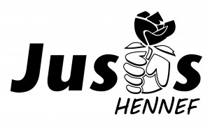 Juso-Logo Shirt vorne